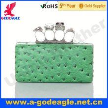 Custom Fashion Skull clutch style handbags_U0008-395