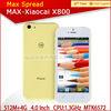 xiaocai x800 8.0Mp camera dual sim multi colors 8.4mm ultra slim android smart phone