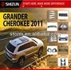 Sizzle 2011 Auto Parts Chrome Auto Accessories for Grand Cherokee