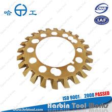 Solid double-disc straight bevel gear cutter,gear milling cutter, G104E(24-110)U-A,B,C,D,E,F