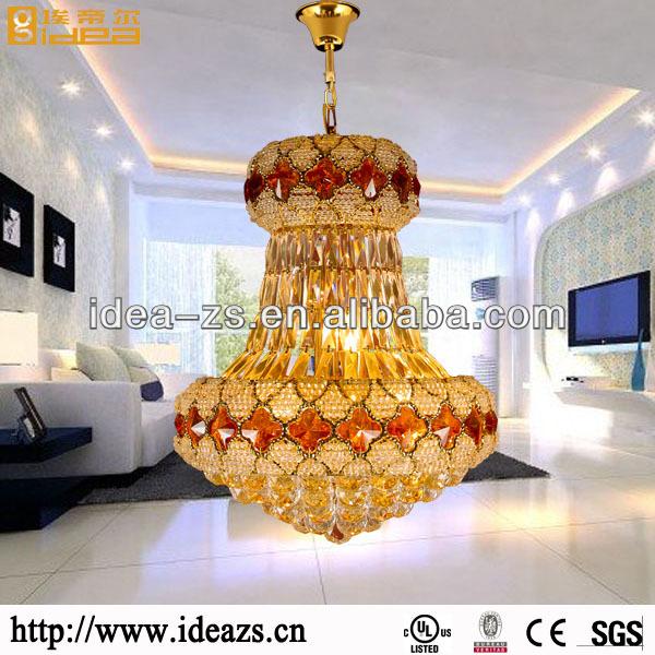 Kristall antik kronleuchter galvanisieren glasperlen wohnzimmer ...