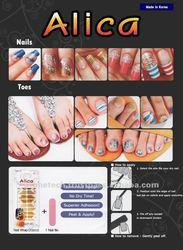 Alica - Instant Nail Wrap