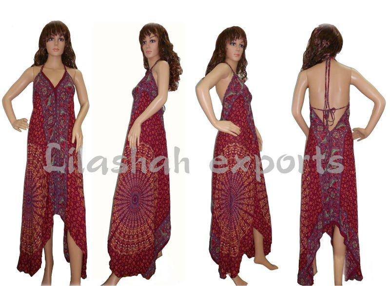 rayón n2698 mandala largo maxi vestido de algodón vestido casual beach wear vestidos de ropa de fiesta vestido vestido corto algadon tunique coton
