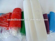 60 Shor A silicone rubber transparent liquid silicon rubber