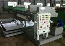 1000 program control auto Tilting plate PP Herbal juice Filter press