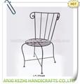 antika rahat metal mutfak ve yemek odası sandalyeleri