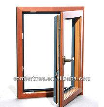 Germany system Wood clad alum. tilt and turn window