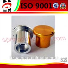 polishing or powder coating die casting aluminum cap
