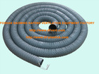 120mm pvc flexible spring wire vacuum dust suction duct hose