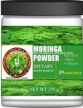 Moringa Powder of High Grade Leaf Gluten-Free Vegan Fiber Calcium Antioxidants:100% Pure Natural