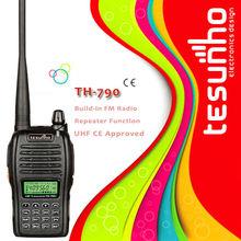 TESUNHO TH-790 CE approval amateur uhf/vhf two way radio