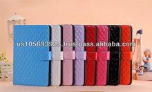 Christmas model PU leather smart cover case for Mini Ipad