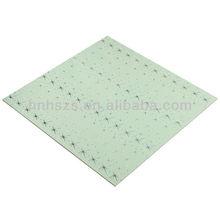 Drop Ceiling Waterproof Ceiling Tiles 60x60 pvc faux plafond