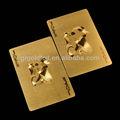 999.9 ouro poker cartões de ouro em relevo cartão de jogo