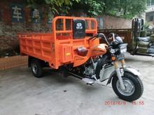 Three wheel heavy duty motor tricycle with cargo box