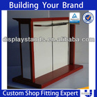Tailor made convenient interior counter design for garment shop
