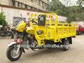 Três rodas triciclo com caixa de carga/motocicleta