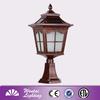 landscap christmas led solar post lamp
