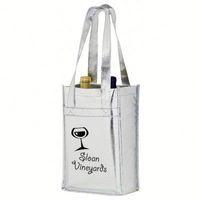 thermal wine cooler carrier bag