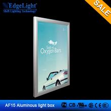 EdgeLight AF15 poster frames double sided led light box