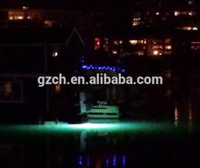 Solar power pool lights led underwater fishing light 12V