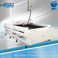 For fashion&arts industry laser cut flower shape machine with updated technology HS-B1325