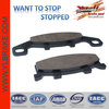 Comfortable motorcycle brake pads motorcycle spare part