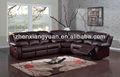 móveis para sala de cadeira faux sofá de couro sofá de canto conjunto