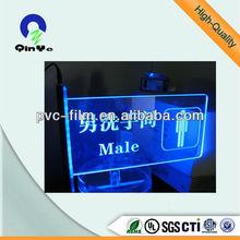 acrylic light board acrylic plastic sheet pvc plastic sheet
