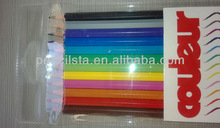 PVC bag packing resin color pencil