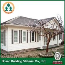 garden green portable house light steel villa/prefabricated villa