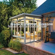 Aluminum villa sunroom and winter garden