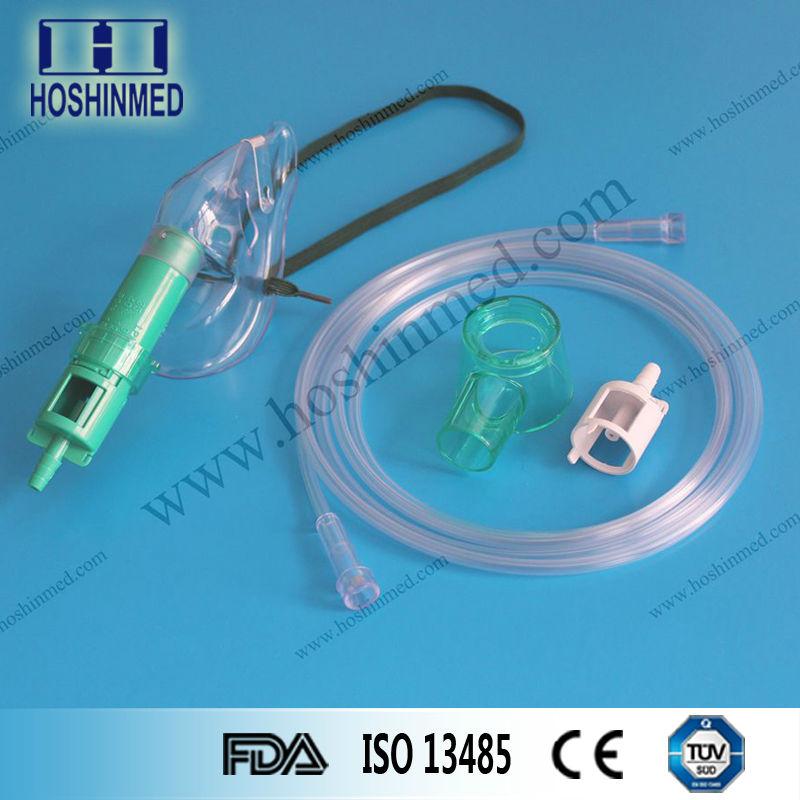 yüksek kaliteli pvc güvenlik venturi oksijen maskesi havalandırma