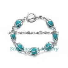 Cheap Turquoise Bead Bracelet
