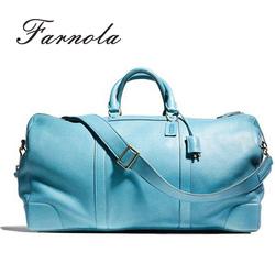 dream waterproof travel gymnastics sport vintage leather duffel bag