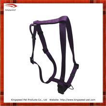 2014 durable purple nylon dog harness Air mesh pet harness