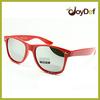 Fashion eyewear UV400 men's polarized sunglasses mirrored lenses