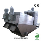 Dewatering Screw Press for Beverage Plant Wastewater Treatment