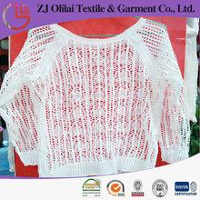 milk polyester ladies lace garment crochet knitte dress vest patterns