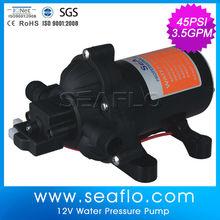 12 Volt Pumps / water pumps 11.6lpm, 45psi, viton valves, santoprene diaphragm for ATV 12v Sprayer
