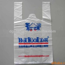 High quality &Better price Hdpe/ldpe plastic bag t-shirt