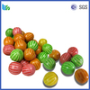 Best selling colorful fruity round ball bubble gum gummy