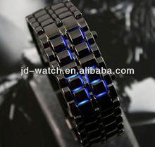 2013 lava led watch iron samurai style for man