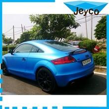 JEYCO VINYL Matte pearl blue air free hot sale colored car wrap vinyl