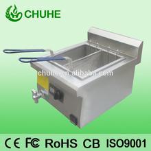 Commercial novel and durable desktop induction fryer for kitchen