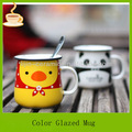 Esmaltada de porcelana taza, taza de cerámica, decorativos de cerámica tazas/mugs/tarros lj-4225