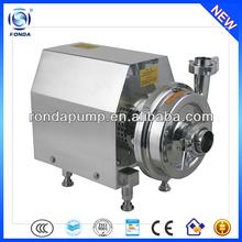 RDRM stainless steel electric centrifugal pump transfer drinking oil milk food grade liquid pumps