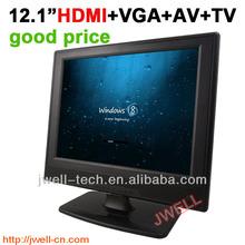 12 inch lcd pc monitor with AV,HDMI, Analog TV