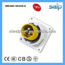 2013 NEW Industrial IP67 4P+N+E Waterproof 3p e industrial plug