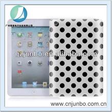 Dots Design TPU Rubber Case for iPad Mini